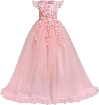 Flower Girl Dress Kids Princess Dresses Party Wedding Bridesmaid Birthday Formal