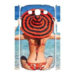 ALICASE Cover Case Bikini 3D Diy For Samsung Galaxy S3 I9300 [Pattern-1] Kimberly Kurzendoerfer