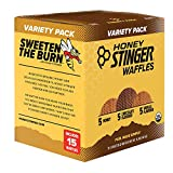 Honey Stinger Organic Waffle, Variety Pack