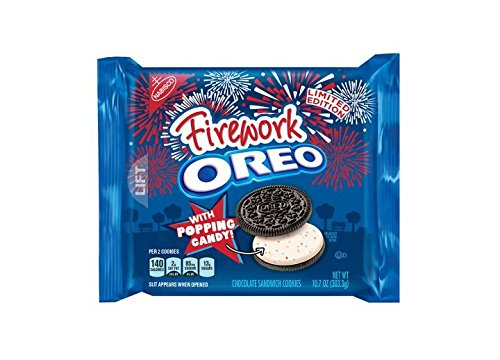 FIREWORK OREOS WITH POPPING CANDY (LIMITED EDITION ) (3 PACK ) by FIREWORK OREOS WITH POPPING CANDY (LIMITED EDITION ) (3 PACK )