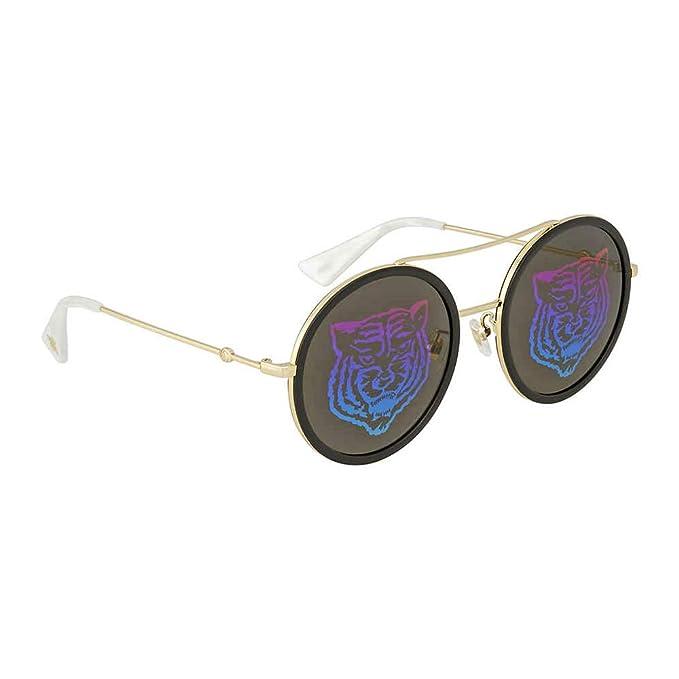 8615e956f7 Sunglasses Gucci GG 0061 S- 014 GOLD/GREEN: Amazon.ca: Clothing ...