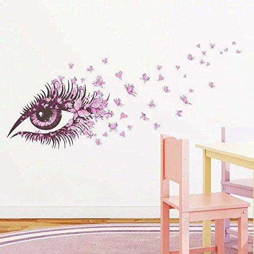 Okbuy Wall Stickers Le Meilleur Prix Dans Amazon SaveMoneyes - Wall stickershuhushopxaudrey hepburn beautiful eyes removable