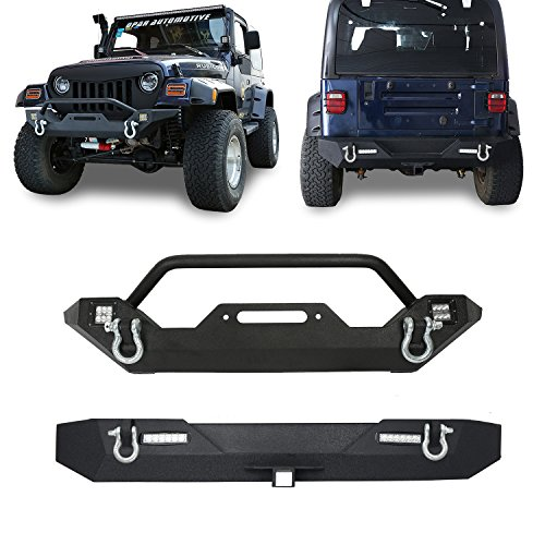 jeep bumpers tj rear - 9