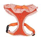 Puppia Authentic Puppia Vivien Harness A, Orange, Small