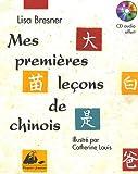 Mes premières leçons de chinois (1CD audio)