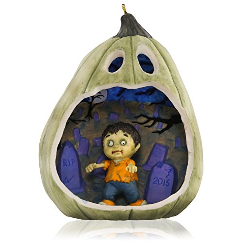 Happy Halloween! Zombie Ornament 2015 Hallmark -