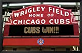 Cubs Win! Framed Poster 36 x 24in