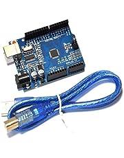 GearGeeKLab Kit UNO R3 - Placa ATmega328P con Cable USB para programar- Compatible con IDE de Placas programables
