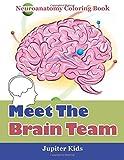 neuroanatomy coloring book - Meet The Brain Team: Neuroanatomy Coloring Book