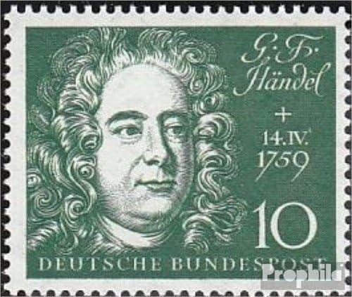 M/úsica // Bailar RFA.Alemania 315 1959 Inauguraci/ón el Beethovenhalle en bo Prophila Collection RFA Sellos para los coleccionistas