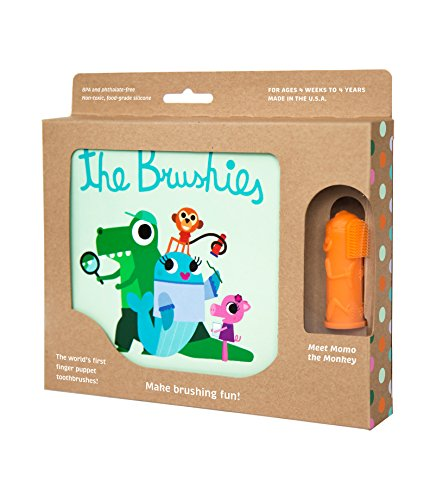 Brushies toddler toothbrush storybook Monkey