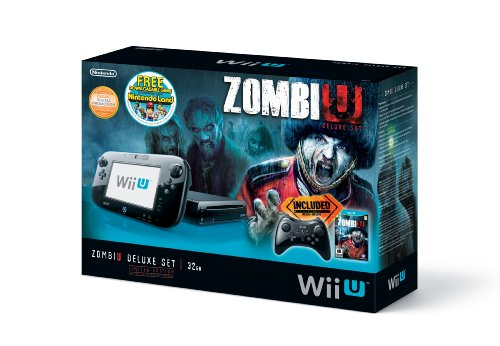 ZombiU Deluxe Set Wii U Console