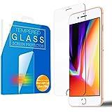 MS factory iPhone8 Plus / iPhone7 プラス ブルーライト カット 90% ガラスフィルム iPhone 8 7 ブルーライトカット 強化ガラス フィルム アイフォン8 アイフォン7 保護フィルム 3D Touch 対応 90日 保証 FD-IP7p-BLUE-AB