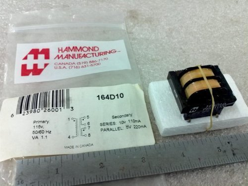 Hammond 164D10 Low Voltage Transformer