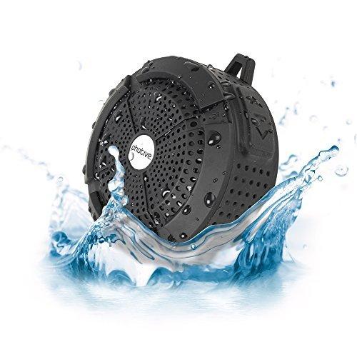 Photive Rain WaterProof Portable Bluetooth Shower