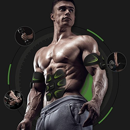 SELENECHEN Abs Stimulator Ultimate Abs Stimulator Ab Belt Muscle Toner Ab Toner for Abdomen Arm Leg Support Men Women