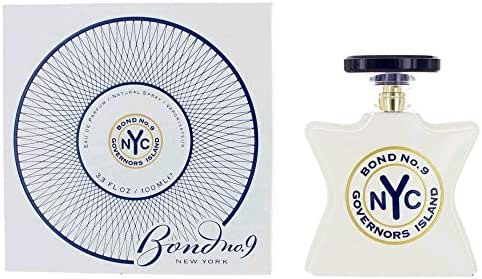 Bónd Nó. 9 Governors Island by Bónd Nó. 9, 3.3 oz Eau De Parfum Spray for Men