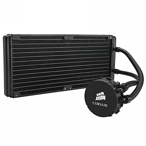 Corsair Hydro Series H110 280 mm High Performance Liquid CPU Cooler by Corsair