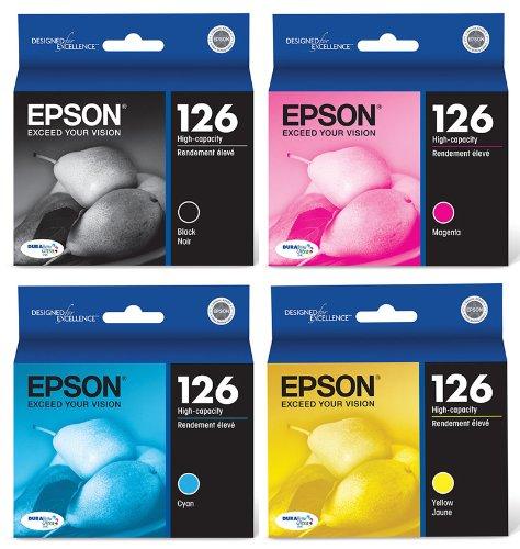 Genuine Epson 126 Cartridge 4 Pack product image