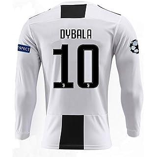 57b0e9eea brave Yang Juventus 18-19 Season  10 Dybala Home Men s Long Sleeve Soccer  Jersey