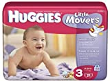 Kimberly Clark 10517.0 Huggies Diaper Ultra Trim, Size 3 (Pack of 14)
