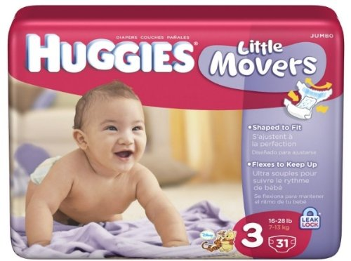 Kimberly Clark 10517.0 Huggies Diaper Ultra Trim, Size 3 (Pack of 14) by Kimberly-Clark
