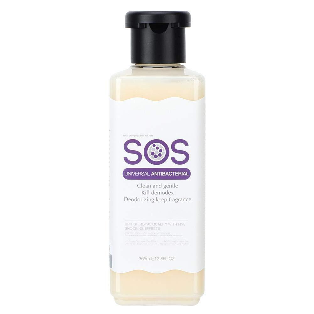 Hffheer Cat Shampoo, Fragrance Free Dog Conditioner,Dog Shampoo Organic Pet Grooming Universal Natural Liquid Wash-365ml