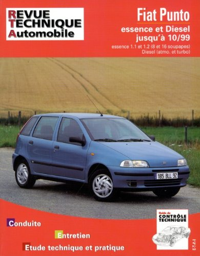 Rta 566.3 Fiat Punto Essence et Turbo Diesel 93-98 (French Edition) (French) Paperback
