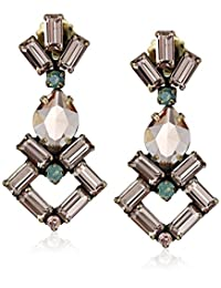 Sorrelli Art Deco Statement Drop Earrings