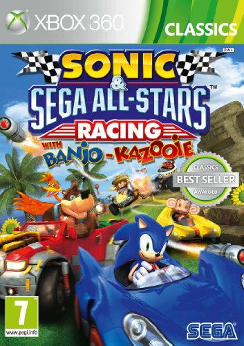 SEGA Sonic And All-Stars Racing (Xbox 360) (And Sonic Sega All Star Racing)