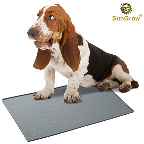 Silicone Pet Feeding Mat - Waterproof, Splash Proof Placemat