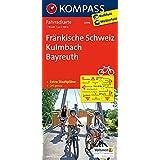 Fränkische Schweiz - Kulmbach - Bayreuth: Fahrradkarte. GPS-genau. 1:70000 (KOMPASS-Fahrradkarten Deutschland, Band 3096)