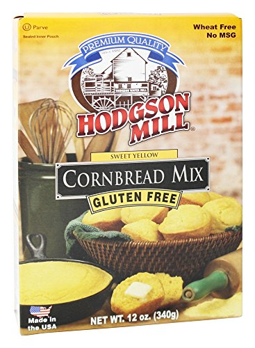 Hodgson Mill - Gluten Free Cornbread Mix Sweet Yellow - 12 oz (pack of 2) ()