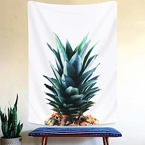 Pineapple Tapestry Wall Art Hanging Tapestry For Living Room