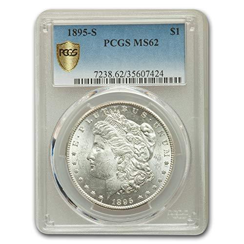 1895 S Morgan Dollar MS-62 PCGS 1 MS-62 PCGS