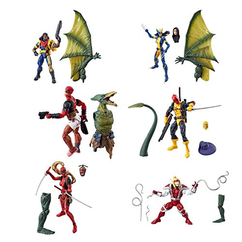 MCU Deadpool Marvel Legends Wave 2 Set of 6 (Sauron BAF)