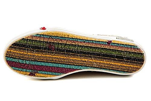 Original Para Lisa 142 37 Samples Zapatillas Mujer de Beige Beige EU Piel FM Felmini SdqRfS