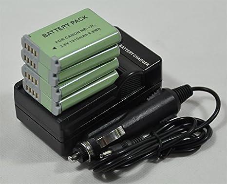 Legria Mini X NB 12L N100 Akku Ladegerät für Canon PowerShot