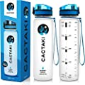 Cactaki Time Marked Sport Water Bottle