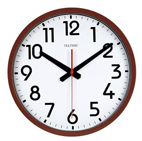 Genial Large Number Commercial Office Wall Clock
