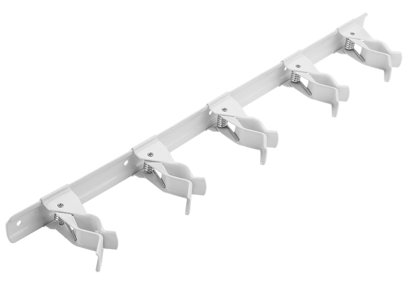 National Hardware N112 078 V8519 Tool Storage Clip in White finish