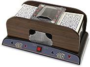 Brybelly GSHU-004 Two Deck Wooden Automatic Card Shuffler