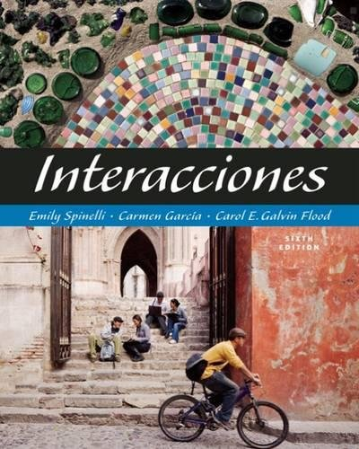 Interacciones (with Audio CD) (World Languages)