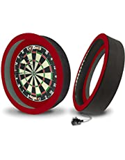 XQ Max - Sirius 6.0 LED Light with Built in Surround - Dartboard Lighting System - UK Edition