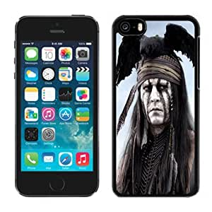 XiFu*MeiBeautiful Custom Designed Cover Case For iphone 4/4s With Johnny Depp The Lone Ranger Tonto Phone CaseXiFu*Mei
