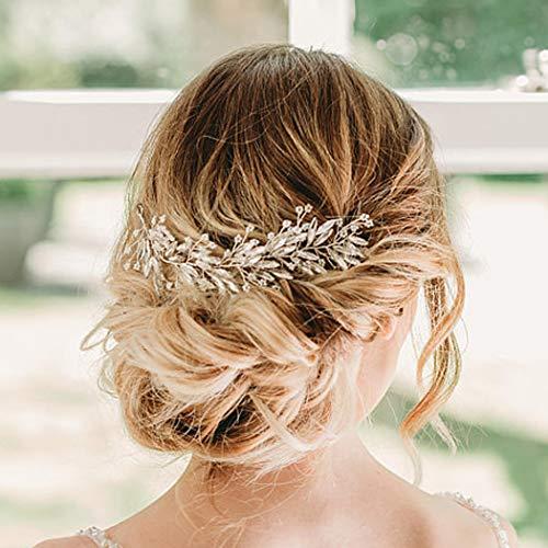 Artio Wedding Hair Vine Accessory Bridal Headpiece for Bride and Bridesmaids HV-516
