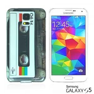 OnlineBestDigital - Designer Hard Case Cover for Samsung Galaxy S5 - Cassette