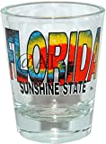 Florida Name Tie dye – FLORIDA SOUVENIR GIFT SHOT GLASS. DISHWASHER & MICROWAVE SAFE GLASS. 1201FL For Sale