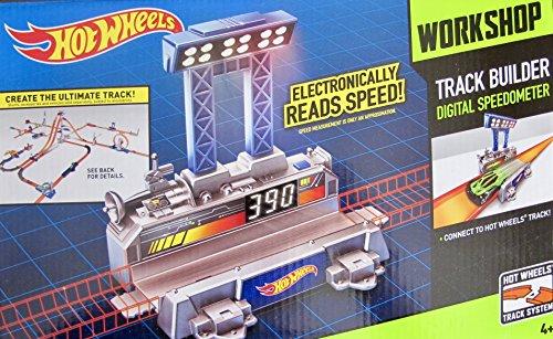 HOT WHEELS Workshop ELECTRONIC Track Builder DIGITAL SPEEDOMETER Accessory for Hot Wheels Tracks (Hot Wheel Cake)