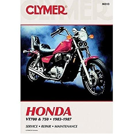 amazon com clymer repair manual for honda vt700 vt750 shadow 83 87 rh amazon com 1983 honda shadow 750 service manual free download 83 honda shadow 750 owners manual